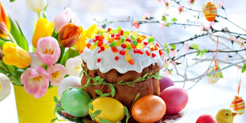 Вітаємо Вас зі Світлим Великоднем!